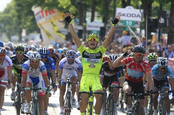 Guardini bate a Cavendish en el sprint de Treviso
