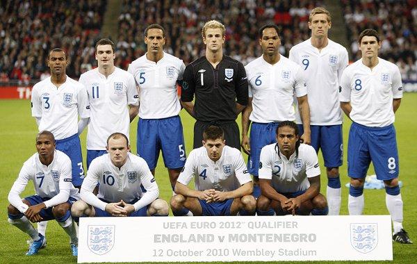 Selección de fútbol de Inglaterra