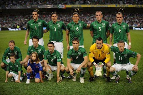 Selección de fútbol de Irlanda
