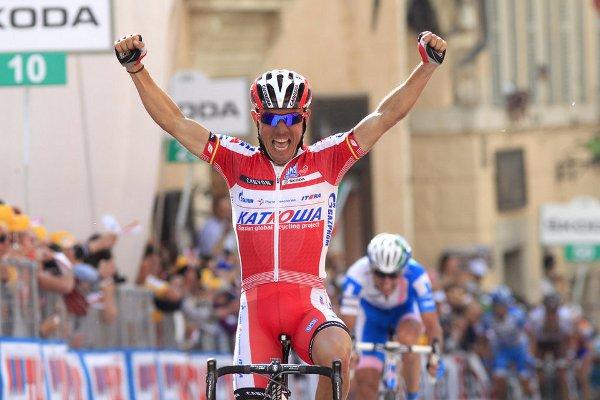 Joaquim Rodríguez ganando en el Giro de Italia
