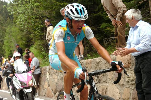 Kreuziger sufrió pero ganó una etapa en el Giro de Italia