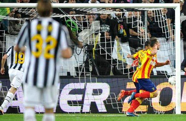 El Lecce sacó un empate en casa de la Juventus