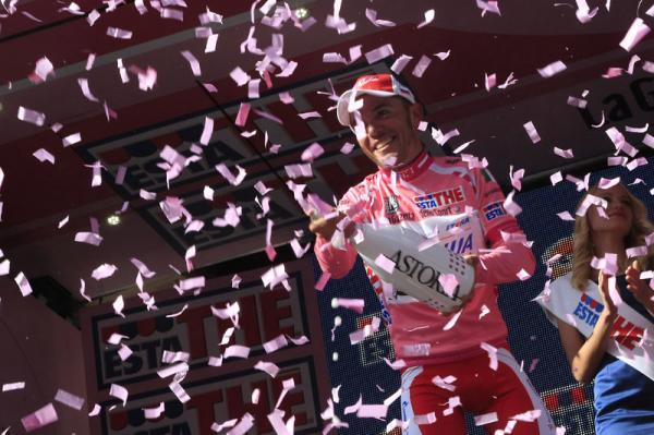 Purito Rodríguez, líder provisional del Giro de Italia
