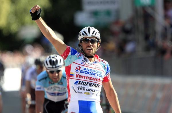 Roberto Ferrari ganó al sprint la etapa 11 del Giro de Italia