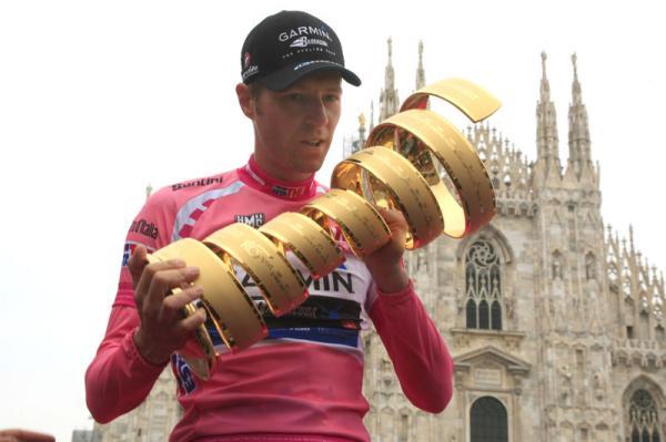 Ryder Hesjedal, ganador del Giro de Italia 2012