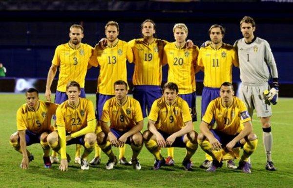 Selección de fútbol de Suecia