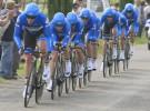 Giro de Italia 2012: Garmin gana la crono por equipos y viste de líder a Navardauskas