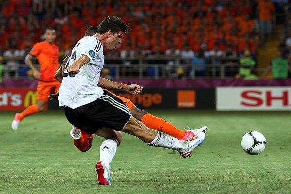 Mario Gomez ya ha marcado tres goles en la Eurocopa