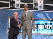 NBA: Anthony Davis elegido en el número 1 del draft por los Hornets