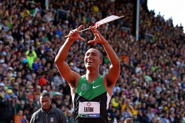 Ahston Eaton, recordman mundial de decatlón