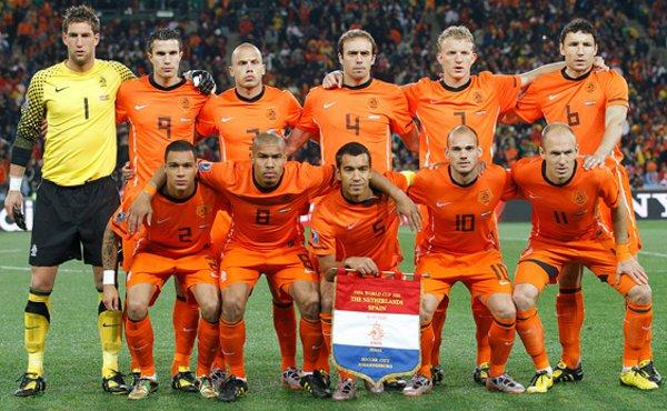 Selección de fútbol de Holanda