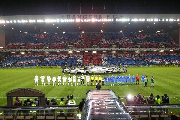 Ibrox Park, el corazón del Rangers de Glasgow