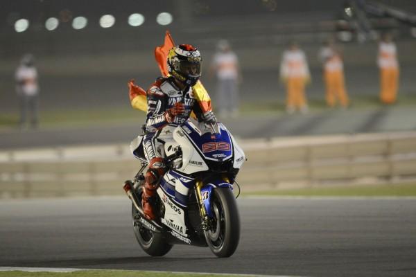 Jorge Lorenzo durante el Gp de Qatar