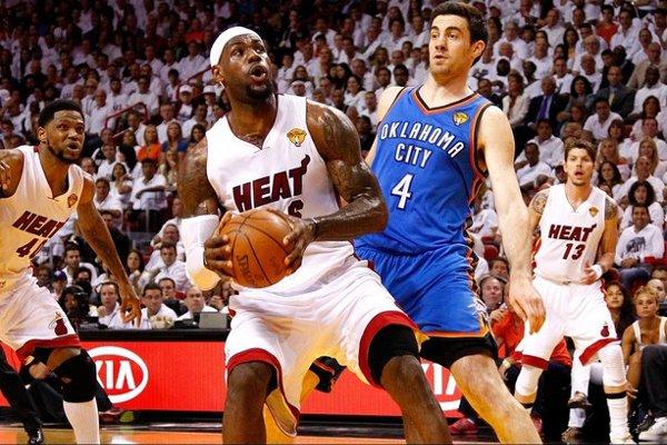 Lebron volvió a ser el mejor jugador de los Heat en esta final
