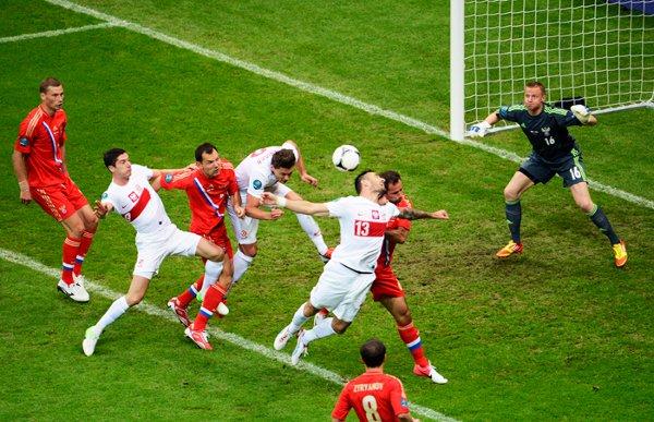 El duelo entre Polonia y Rusia fue vibrante y muy disputado