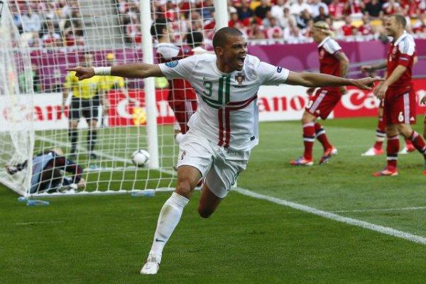 Pepe abrió el camino de la victoria con su gol ante Dinamarca