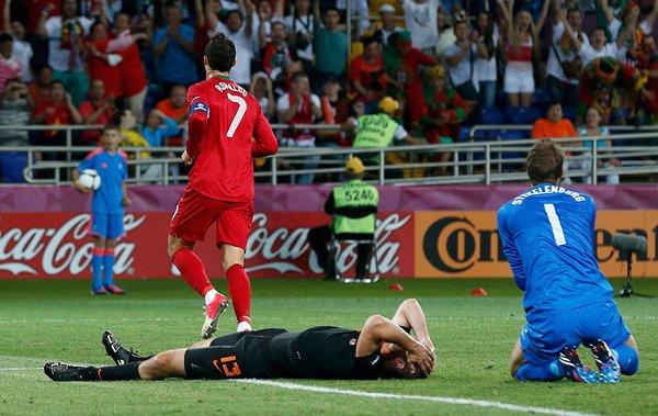 Cristiano Ronaldo firmó la sentencia de muerte de Holanda
