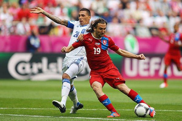 Jarosik marcó el primero de los goles para la República Checa