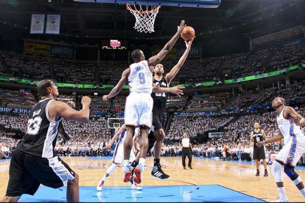 Los Thunder de Ibaka han vencido a los Spurs de Duncan