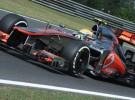GP de Hungría 2012 de Fórmula 1: Lewis Hamilton lidera los libres del viernes