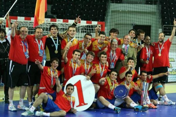 Los Juniors lograron un oro histórico en el Europeo de balonmano