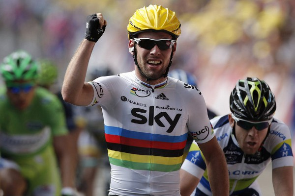 Cavendish gana el primer sprint del Tour de Francia 2012