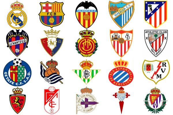 Escudos de Primera División