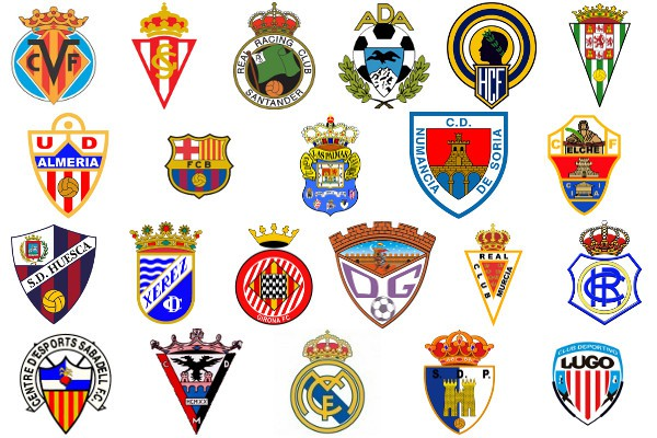 Escudos de Segunda División 2012/13
