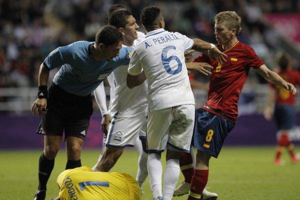 Algunos jugadores de España perdieron las formas contra Hondursa