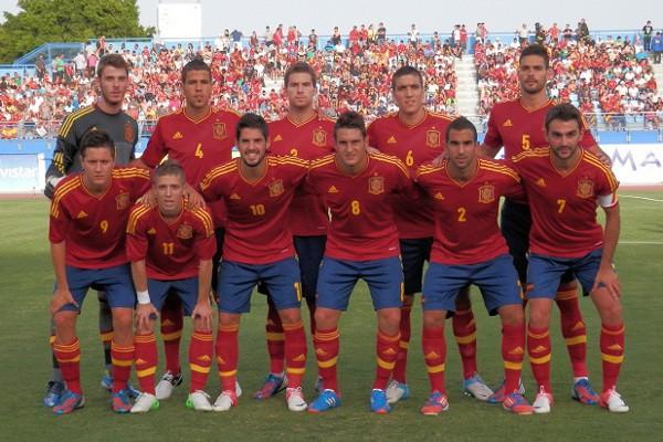 Once inicial de España en el amistoso ante Senegal