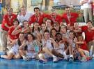 Oro para España sub 16 femenina y bronce para España sub 20 masculina en campeonatos de Europa
