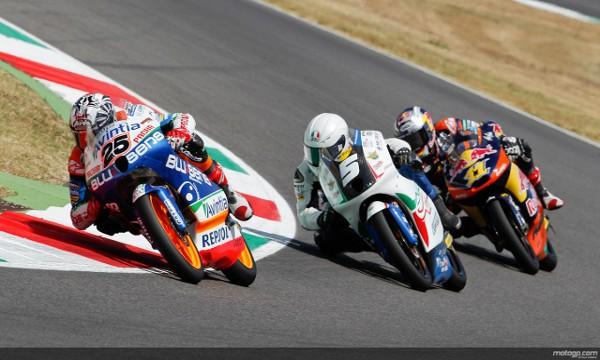La de Moto3 fue la carrera más apasionante del fin de semana en Mugello