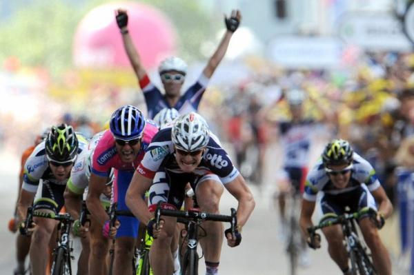 Greipel consigue la victoria en la cuarta etapa del Tour 2012