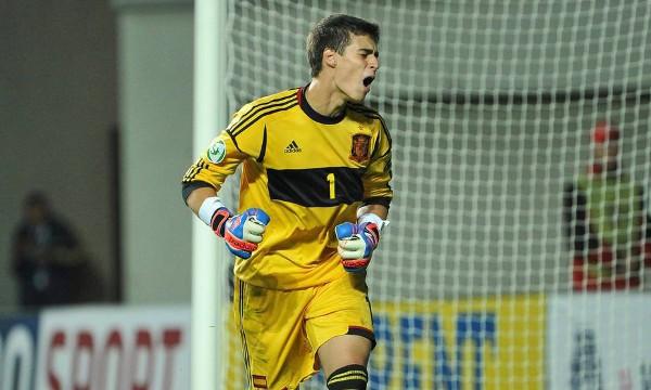El portero Kepa, el héroe de la selección en la victoria ante Francia