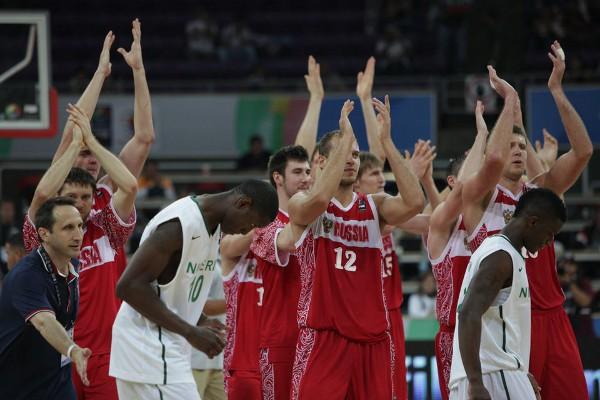 La selección de baloncesto de Rusia estará en Londres 2012
