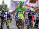 Tour de Francia 2012: Sagan consigue su triplete en una etapa caótica