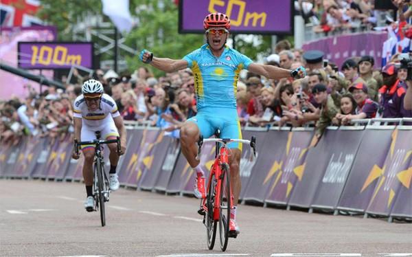 Vinokourov bate a Urán y consigue el Oro olímpico de Londres 2012