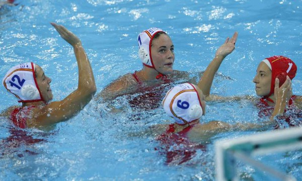 Las chicas del waterpolo español disputan sus primeros Juegos Olímpicos