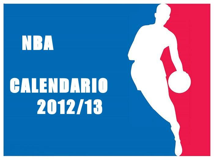 Calendario de la NBA 2012/13