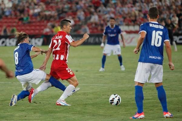 El Almería es uno de los equipos que ha ganado los dos primeros partidos