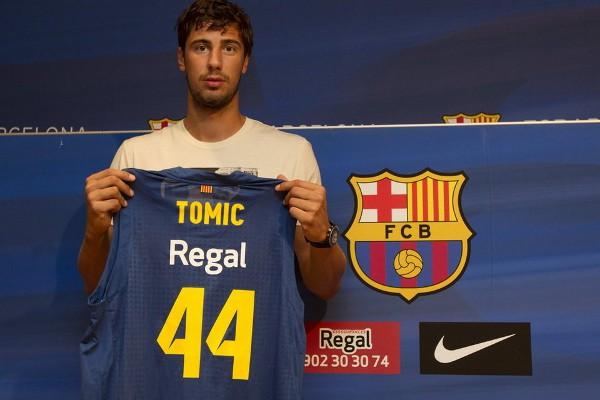 Ante Tomic cambió el Real Madrid por el Regal Barça