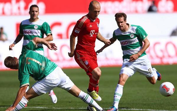 El Bayern Munich comenzó la Bundesliga goleando a un recién ascendido