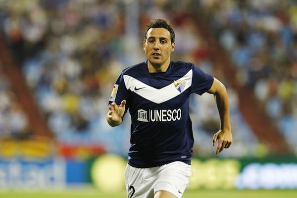 Cazorla sólo va a estar una temporada en el Málaga