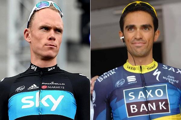 Contador y Froome son los máximos favoritos a ganar la Vuelta a España
