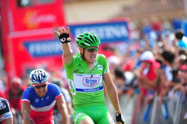 John Degenkolb ya ha ganado cuatro etapas en la Vuelta a España 2012