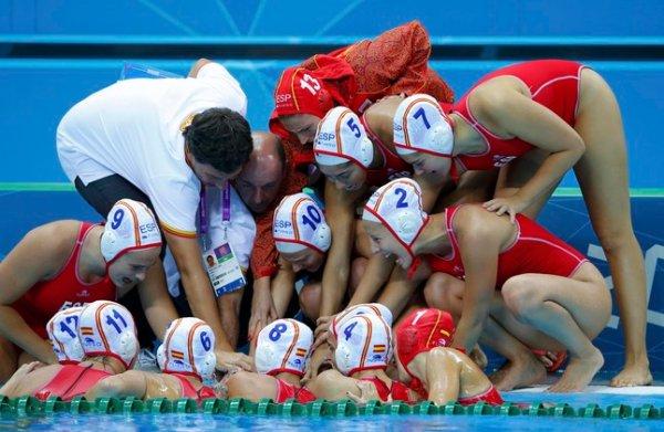 España está cuajando un gran torneo en waterpolo