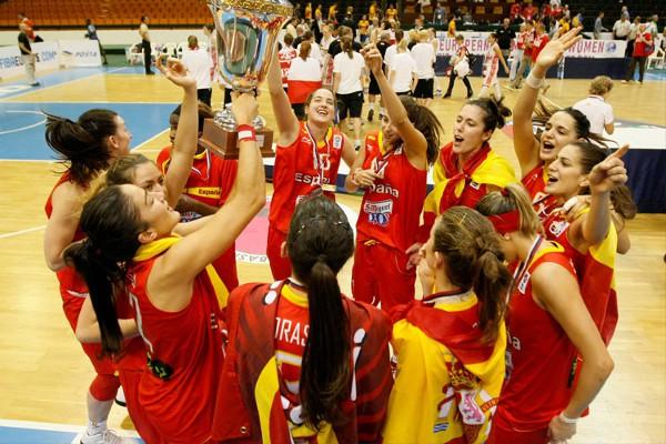 Las chicas de la U20 se proclamaron campeonas de Europa de baloncesto