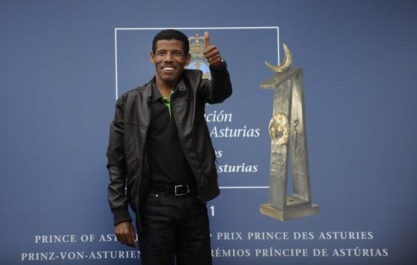 Gebrselassie ganó el Príncipe de Asturias de los deportes el año pasado