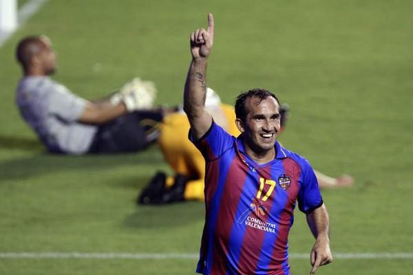 El griego Gekas marcó el gol que certificó la clasificación del Levante