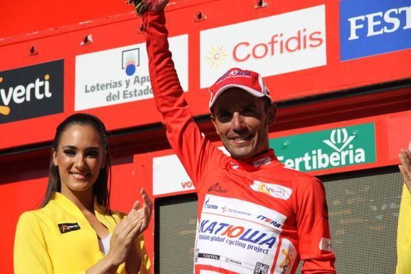 Joaquim Rodríguez es el nuevo líder de la Vuelta a España 2012